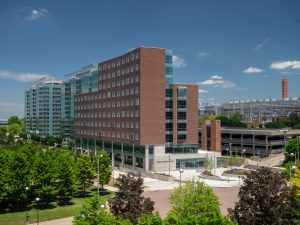Marian Spencer Hall on UC campus